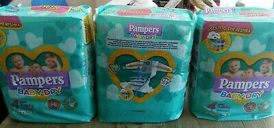 Pannolini Pampers Baby-Dry 57 Pz 7-18 Kg