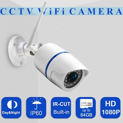 Indoor Security IP Camera 1080P Wifi CCTV Bullet IR Camera Yoosee Waterproof