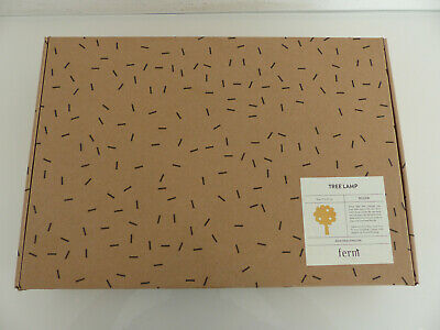 Ferm Living Lampe Tree Lamp 27x35cm Kinder Wandleuchte Gelb Yellow Baum NEU