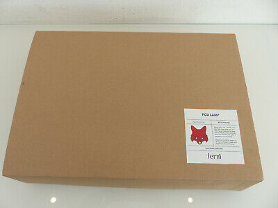 Ferm Living Lampe Fox Lamp 30x22,5 Kinder Wandleuchte Fuchs Rot Orange NEU