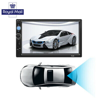 """7""""  Double 2DIN Car FM Stereo Radio USB/MP5 Player Touch Screen Bluetooth 2019"""
