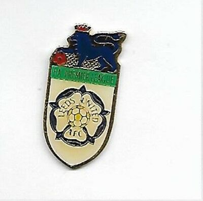 Leeds United AFC Crest - Premier League - Football Pin Badge