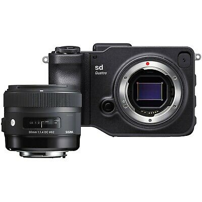 Sigma sd Quattro + 30mm f/1.4 DC HSM FLASH SALE