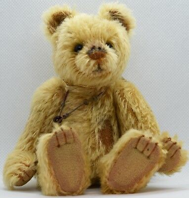 Very Cute Retired Charlie Bear Minimo Tatty Limited Edition Mohair with Tags