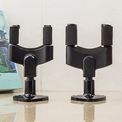 Acoustic Electric Guitar Hanger Holder Wall Mount Top Stage Home Studio 2 Types