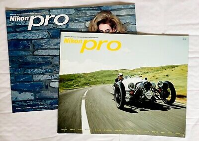 Nikon Pro Magazine, 2 issue's from 2012