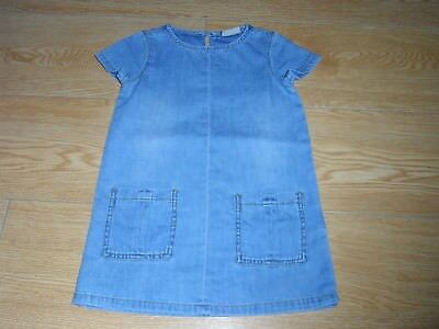 girls light blue denim dress from next age 3 years