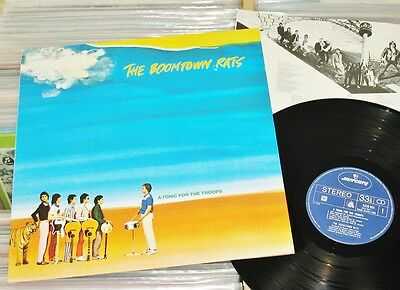 The Boomtown Rats - LP (VG+) A Tonic For The Troops (Bob Geldof) mercury 1978