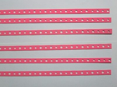 Pink Powdercoated Steel Mini Strap Six Two Ft. pieces
