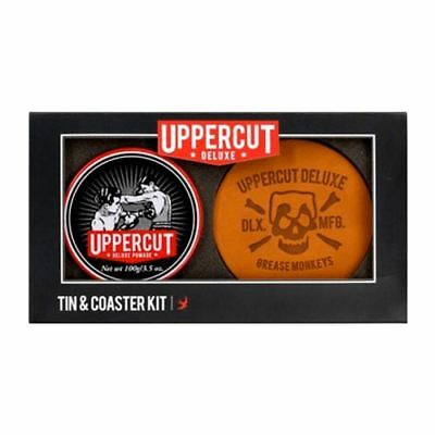 Uppercut Deluxe Pomade 100g with 4 Coaster Gift Set