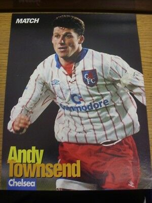 1992/1993 Autographed Magazine Picture: Chelsea - Townsend, Andy. If this item h