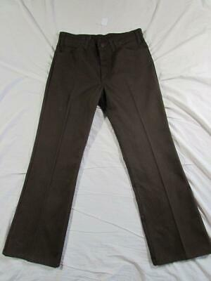 Vtg 70s 80s Levi PK Cord Sta Prest 517 Pants Measure 32x28 Pique Boot Cut