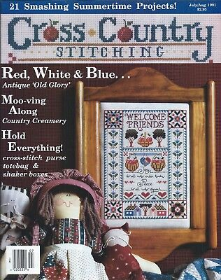 CROSS COUNTRY STITCHING MAGAZINE ~ February 1995 ~ 21