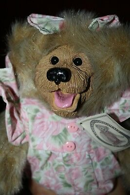 """NWT 12"""" Kimbearly's Originals """"Molly"""": 1st Edition #2198 - Bear in pink dress"""