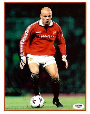 Wes Brown Autographed Signed 8x10 Photo Manchester United PSA/DNA #U54329