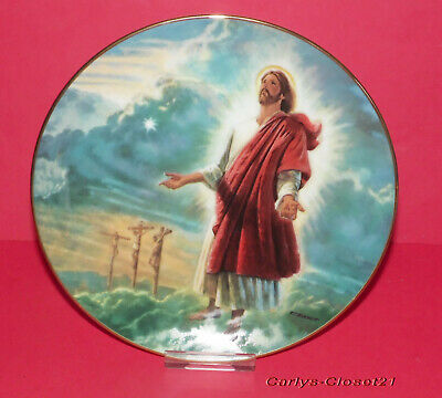 THE BRADFORD EXCHANGE * Collectors Plate * The Ascension * Glory Of Christ *