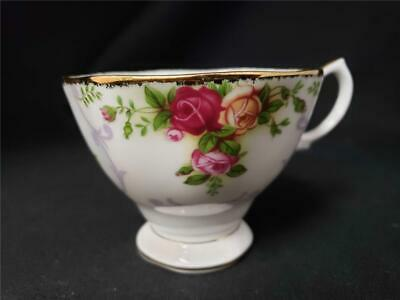= Rose Cameo Violet Royal Albert Coffee Tea Cup Only Bone China 2003