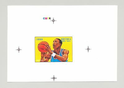 Eritrea 1996 Olympics Basketball 1v Unissued Design Chromalin Essay