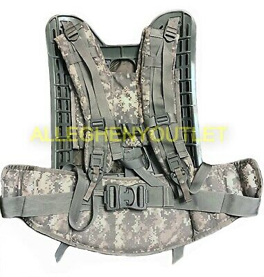 US Military MOLLE II Rifleman FRAME SHOULDER STRAPS & BELT Tree Stand Mover EXC