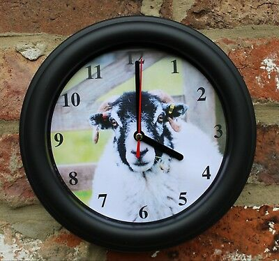 Sheep Swaledale Ram Wall Clock, Farming