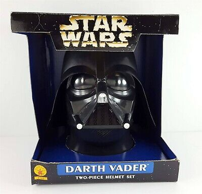 STAR WARS 1998 Darth Vader Replica Helmet Rubie's 3155 Boxed
