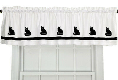Maine Coon Cat Window Valance Curtain In Your Choice of Colors