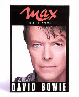 Max Photo Book 1990 - David Bowie - 30 Foto Pictures - Perfetto