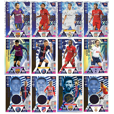 Match Attax Champions League 2018/19 18/19 100 Club Man Of The Match Hth
