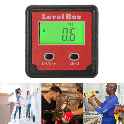 Digital Inclinometer Level Box Protractor Angle Guage Accurate Measuring BI734