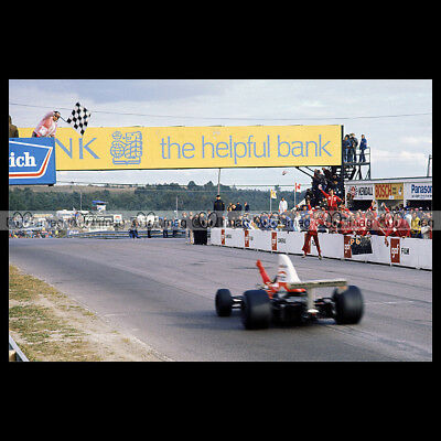 #pha.011034 Photo GRAND PRIX DU CANADA GP F1 1974 MOSPORT PARK Car Auto