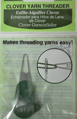 CLOVER YARN THREADER - Ideal for threading wool needles