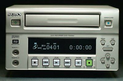 SONY DVO-1000MD NTSC PAL Professional Medical Grade DVD+RW DVD Recorder w/ HDD