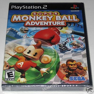 Super Monkey Ball Adventure (Playstation 2).. Brand NEW!!