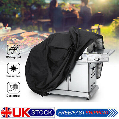 XS-XL BBQ Cover Heavy Duty Waterproof Rain Barbeque Grill Gas Garden Protector