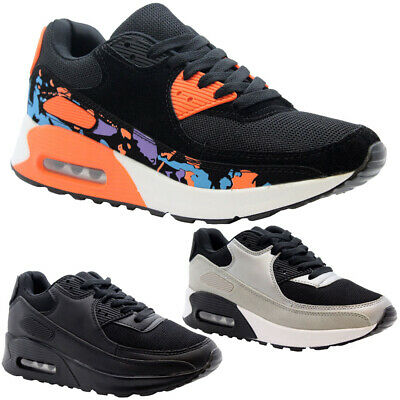 Ladies Air Shock Absorbing Running Trainers Women Jogging Fitness Gym Shoes Size