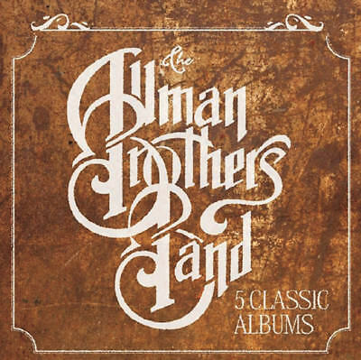 The Allman Brothers Band 5 Classic Albums Cd Set New