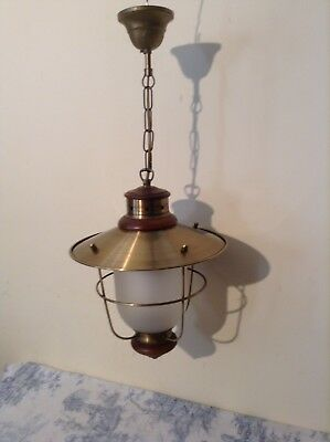 French/Italian Style Nautical Lantern Ceiling Light (1862)