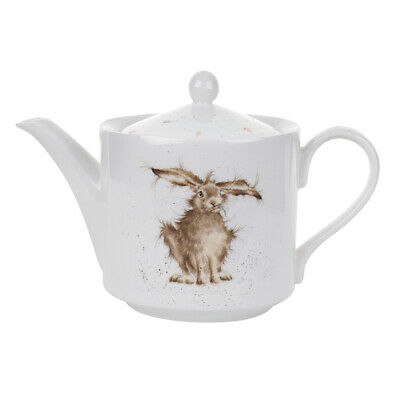 Wrendale By Royal Worcester - Hare Brained Teapot