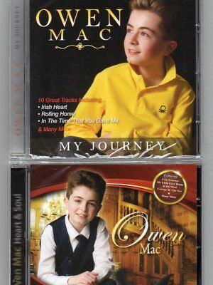 OWEN MAC - HEART AND SOUL/MY JOURNEY - Double Pack - Free Post UK