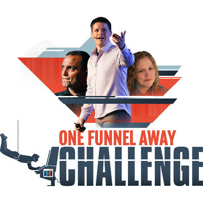 ⚡️ Russell Brunson – One Funnel Away Challange FULL COURSE 🔥