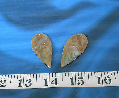 MOP Golden Ivory ~ Shell Jewelry Blanks ~ Polished Ivory ~ Mother-of-Pearl