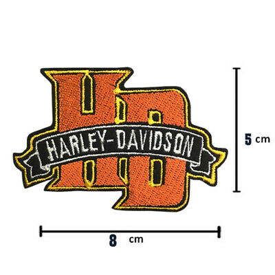 Harley Davidson Bike Motocycles Collectibles Iron on patches 8 x 5 cm