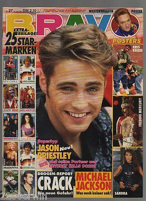 Bravo 27 / 25.6.1992 / Kiss, Michael Jackson, George Michael, Prinzen, Tom Petty