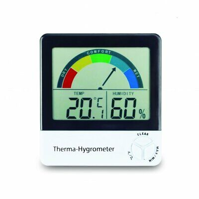 Healthy living Therma Hygrometer with comfort & temperature level indication