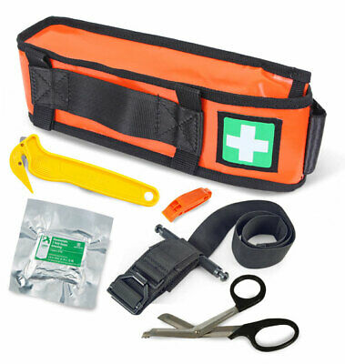 Arborist Tree Surgeon Critical Injury Quick Release First Aid Kit Tourniquet New