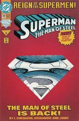 Dc Comic Reign Of The Superman #22  Bin 26