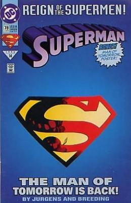 Dc Comic Reign Of The Superman #78  Bin 19