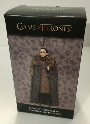 Kurt Adler Game Of Thrones John Snow Holiday Christmas Ornament HBO