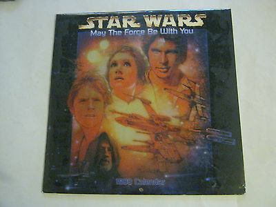 Star Wars May The Force Be With You 1999 Calendar (GS26-7)