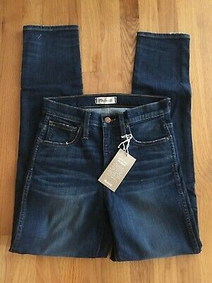 a59421df56 NWT MADEWELL 28 tall The Tall Perfect Vintage Jean: Comfort Stretch ...